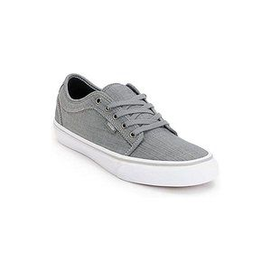 Vans Chukka Low Men's SZ 11 Chambray Grey/White